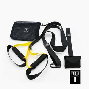 JSYSX Unisex Fitness Elastic Suspension Exerciser Yoga Home Gym Belt Workout Fitness tension hanging belt yoga assist bands