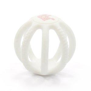 Commerce de gros non toxique Approuvé par la FDA silicone bébé Chewy organique sensorielle Sets jouets pour les enfants en bas âge Kit Stretching New Crown Teether balle pour les enfants