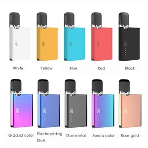 Authentic OVNS JC01 Pod vape mod Starter Kit with Slim card-shaped appearance compatible with Juxl Ceramic Tank E-liquid Pods