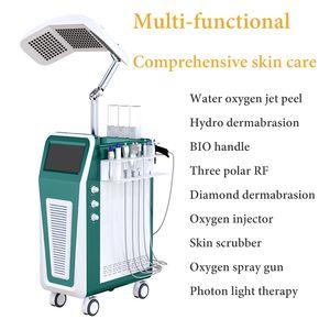 Miglior pelle HydraFacial Md Macchina Hydro dermoabrasione pulizia del viso ringiovanimento Microdermabrasion Apparecchiatura HydraFacial Nere Spa Vendita