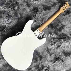 Custom JRamones White Guitar Mos Ventures Model Metallic Electric Guitar