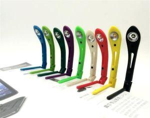 Buch-Licht-Buch-Leselampe Clip-on Buch Lichter Folding Leser LED-Nachttischlampe Einstellbare Flexibel mit Batterie