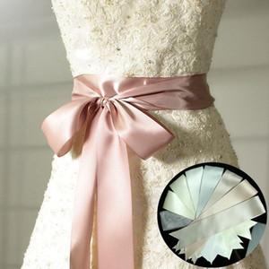 JLZXSY 3 Yard Satin Ribbon Weddin Bridal Sash Evening Dress 5cm Duble Faced Satin Ribbon Choose Color