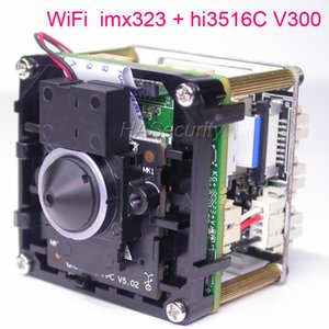"WiFi special LENs H.265 H264, 1 2.9"" Sony Exmor IMX323 CMOS + Hi3516C V300 CCTV IP camera PCB board module + FPC Antenna"