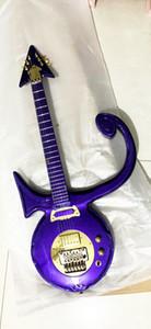 Rare Prince-Amour Symbole modèle guitare or Floyd Rose Big Tremolo Gold Bridge coutume matériel fait Résumé Symbole Goldtop Guitare