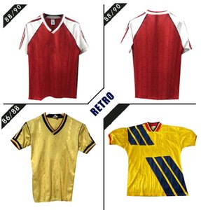1988 1990 Merson Tony Adams Thomas'ın Retro futbol forması Rocastle Dixon Campbell Smith Limpar86 88 klasik bağbozumu futbol forması arsen