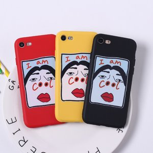 Fashion creative mobile phone case iPhone11Pro max 11Pro 11 SE XR XM couple models iPhone8 7Plus trendy spoof big nostril protective case