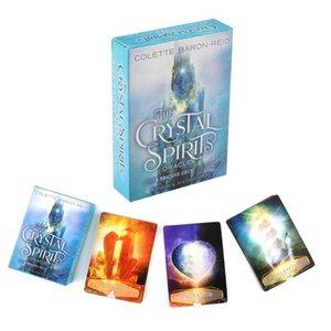 Für Spiel A Guidebook-Party Oracle Divination Deck Card Tarot Gift Card Deck Kristall Fate Ferien 58 Spirits And AqEPx bdesports