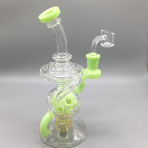 14.5mm Joint Size big bong In Stock Real Images tall bong recycler rig Stable small glass water pipe
