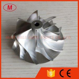 GT15 25 6 + 6 Cuchillas 50.20 / 65.00mm 702549 0008HF V1 alto rendimiento turbo tocho / aluminio 2618 / fresado rueda del compresor