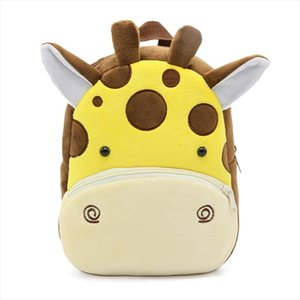 Winmax Mädchen Junge Giraffe Plüsch-Schule-Rucksack Kindergarten Cartoon-Schule-Beutel-Kleinkind-Kinder Tierspielzeug Tasche Infantes Mochila