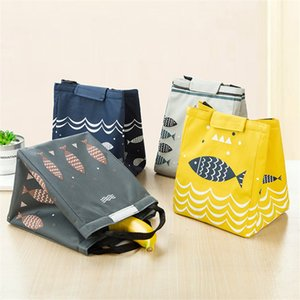 New High Quailty Oxford Cloth Portable Insulated Thermal Cooler Bento Lunch Box Tote Picnic Storage Bag Pouch Lunch Bags