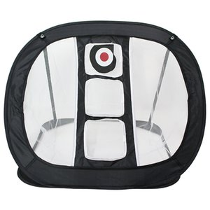 Golf Swing Net Swing Trainer Pop UP Golf Practice Net Chipping Pitching Cages Mats Portable