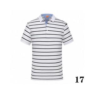 20 coton -25summer solide couleur nouveau style polo marque de l'usine de masculin de luxe 2 qualité supérieure polo hommes à vendre