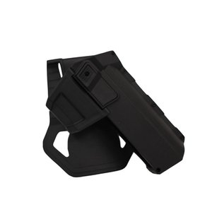 New Tactical Movable Pistol Holsters for G17 G18 G19 with Flashlight or Laser Mount Right hand