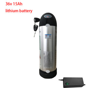 36V 15Ah li ion battery Kettle lithium BMS 18650 10S for 500W 350W e bike sccoter foldable bicycle + 2A charger