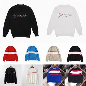 20ss der Frauen Männer Designer Sweater LUXE Letters Pullover Männer Hoodie Langarm Aktiv Sweatshirt Stickerei Strickwaren warme Winterkleidung