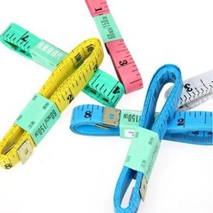 150CM PVC Material Sewing Machine Body Measuring Tape Cloth Sewing Ruler And Tailor Of Tape Measure 60 Inch Body Tape
