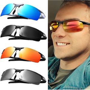 Motelan Men's Driving Fashion Fishing Sunglasses UV-Schutz Ultra al Sonnenbrille Polarisierte Golf mit männlichen MG Lightweight Box XDNKH