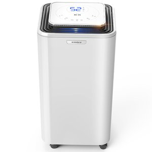 Dehumidifiers 23.5L D Dehumidifier Moisture Absorber Home Mute Bedroom Basement LED Display Touch Screen Dry Clothes Power Timing Dual-core