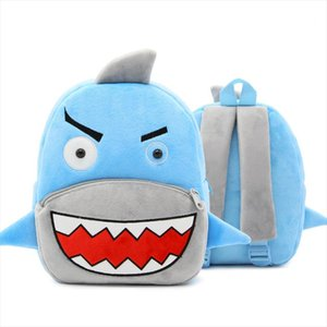 Girls Boys Cute Plush School Backpacks Unicorn Kindergarten 3D Cartoon School Bags Children Animal Toys Bag Infantes Mochila 2 4