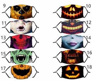 New Home Fashion Design wiederverwendbarer Mask Cotton PM2.5 Schwarz Mund-Maske Aktivkohlefilter Winddichtes Mouth-Muffel abwaschbar Masken Gesicht