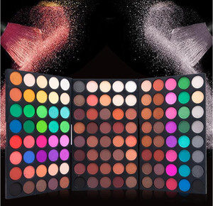 120 Colors Eyeshadow Palette 3 in1 Color Board Makeup Palette Set Highly Pigmented Glitter Metallic Matte Shimmer Natural Ultra Eye Shadow