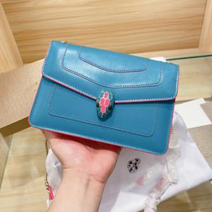 Bulgari Coccodrillo di alta qualità borse moda pelle marca di lusso dal design di lusso borse crossbody bag tote borse a tracolla della borsa