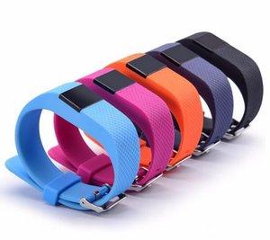 TW64S TW64 Fitbit Flex SmartBand Cargo HR Actividad Muñequera inalámbrica monitor de ritmo cardíaco del pulso pantalla OLED Deporte pulsera inteligente Banda