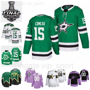 Hombres personalizados para mujeres Niño 15 Blake Comau Jerseys 2020 Stanley Taza Finales Dallas Estrellas Hockey Hockey Invierno Clásico Verde Heritage Hombre Mujer