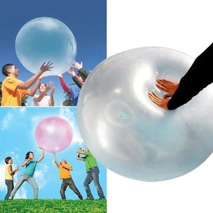 120cm Wubble Magic Bubble Ball Ballons Funny Toy Ball Tear-Resistant Super Gift Inflatable Balls for Birthday Party Decor Vip T200909