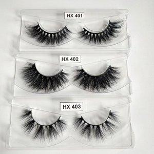 HEXUAN LASHES Großhandel Makeup Tools 30 Paar Wimpern No Box 4D Luxus Mink Lashes 100% handgemachte Cruelty Free
