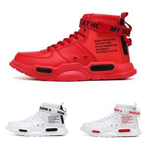 2020 HOT warm Cortex pattern5 Fur Hook & Loop winter white black red man boy men boots mens Sneakers Boot trainers outdoor walking shoes