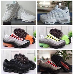 Drop Shipping Wholesale Running Shoes Men Airs Cushion 95S OG Sneakers Boots Authentic 95s New Walking Discount Sports Shoes Size 36-46
