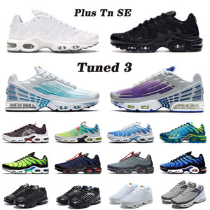 air airmax max tuned plus tn 3 Tuned SIZE 12 Plus III Tn 3 Uomo Donna Air Max Max Running Sport Shoes Triple White Purple Grey Sneakers off Trainers