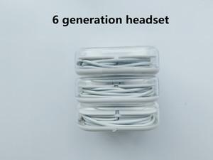 Original Qualidade OEM para 6-geração de 3,5 milímetros Wired Headphone Fone de ouvido fone de ouvido com controle remoto Mic Controle Retail Box