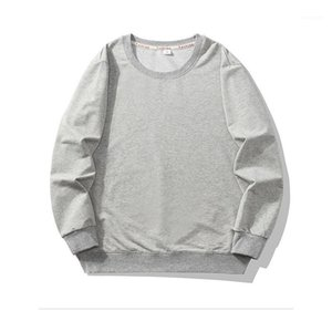 Sweatershirts Mens Designer Crew Neck Hoodies Fashion Casual Long Sleeve Spring Pullover Loose Solid Color Homme