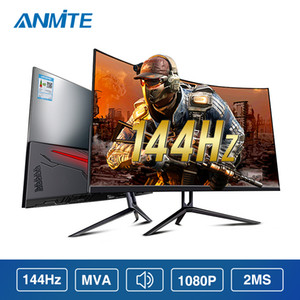 Anmite 32 144hz HDR Curved FHD [1920 x 1080] Gaming Monitor PC HDMI screen Display Ultra-narrow bez
