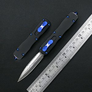 D2 Damasco Steel Pocket Cuchillo Aviación Aluminio T6160 Outdoor EDC Tactical Caza Navajas Regalos de vacaciones Cuchillo de mesa