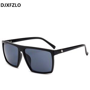 Brand Glass Square Photochromic Men Djxfzlo Sun Mirror 2020 Oversized Man Male Designer Sunglasses Sunglasses FUCBG