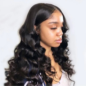 13x4 Loose Wave Wig Lace Front Human Hair Wig Pre Plucked With Baby Hair Modern Show Brazilian Wigs For Black Women