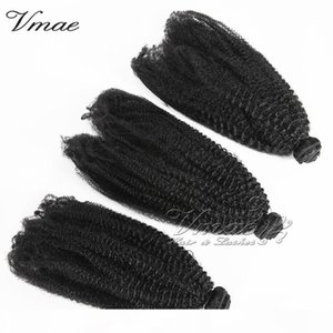 Vmae 100% Unprocessed New Arrival Brazilian virgin hair Burmese 4A 4B 4C Deep wave Hair Weft Weave Piece Hair Extensions Natrural Soft