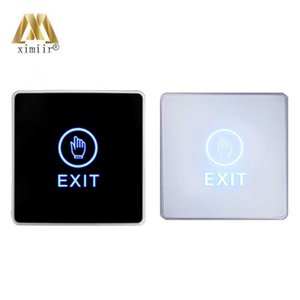 Touch switch door release buttons access control touch Exit Button NC NO COM