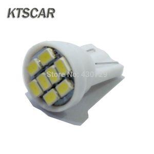 500PCS 추진 LED가 T10 (8) 1206 8leds 8SMD 자동차 라이트 SMD 194 168 192 W5W 3020 자동 웨지 화이트 클리어런스 DC 12V 도매 점등