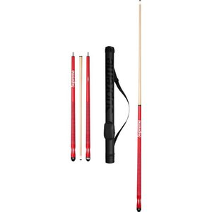Wholesale- clone red wood Billiard cues stick center joint cue Professional 1 2 Jointed snooker cue sticks with cue bag