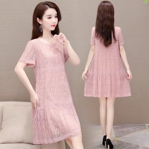 F8iqd Yuanwei vente à découvert ALINE es Aline 2020 robe de mode col rond manches chaud Tenue bW5d5
