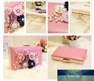 Chain Pink Total Fashion Women Evening Banquet Glitter Bag for Ladies Wedding Clutches Handbag
