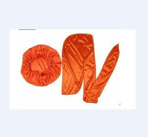 Durag / BONNET Müslüman Kadınlar Stretch Uyku Turban Şapka Eşarp İpeksi Bonnet Kemo kasketleri Kanser Şapkalar Başkanı Wrap 1PCS BONNET / 1 Adet Durag Caps