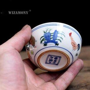 Gaiwan Wizamony Porcelain Pot Cup Celadon Porcelain Tea dinastia Ming 1pcs packing2010 Teacup Bowl Cina Cinese Chinateacups pollo cYkBQ