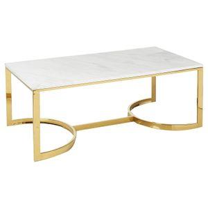 Coffee Table Factory Direct Modern Luxury Design Branco Vintage Marble Centro End Tea ouro para sala de estar